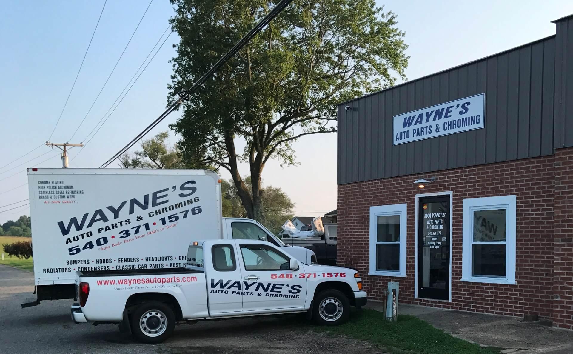 Wayne's Auto Parts | About us